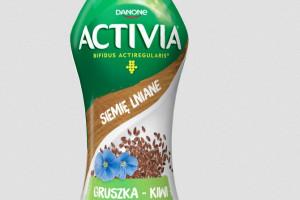 Danone wprowadza jogurty do picia z siemieniem lnianym