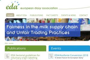 EDA zwraca uwagę na rzetelność w łańcuchu dostaw mleka oraz Nieuczciwe Praktyki Handlowe