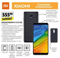Smartfony Xiaomi ponownie w ofercie Biedronki