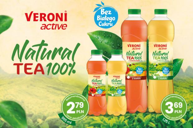 Veroni active Natural Tea 100% – Naturalne herbaty z naparu