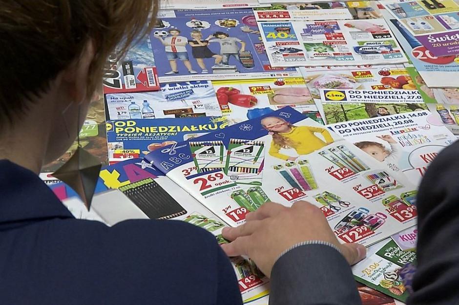 W gazetkach promocyjnych panuje coraz mniejszy chaos