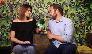Cybruch: Dzisiaj gastronomia, jedzenie to element popkultury (wideo)
