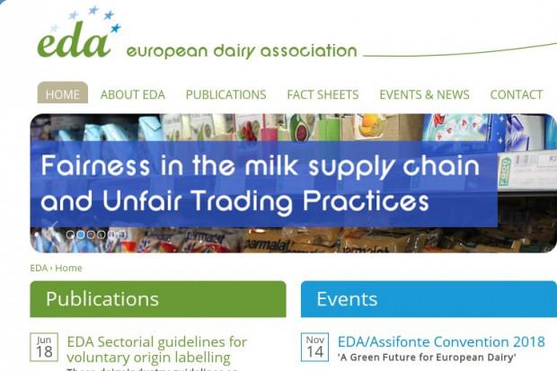 Wytyczne EDA dot. chronionej terminologii mleczarskiej