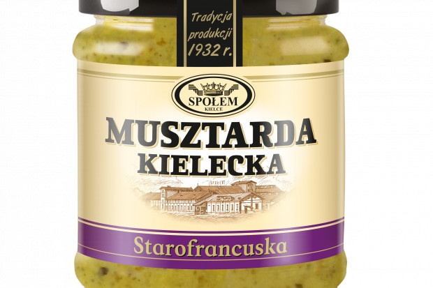 Musztarda Kielecka starofrancuska –  nowość na półce WSP Społem