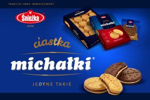Ciastka michałki ® - nowość w ofercie firmy ZPC Śnieżka S.A.
