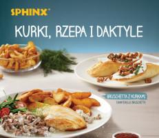 Sphinx rozpoczyna sezon na kurki w restauracjach
