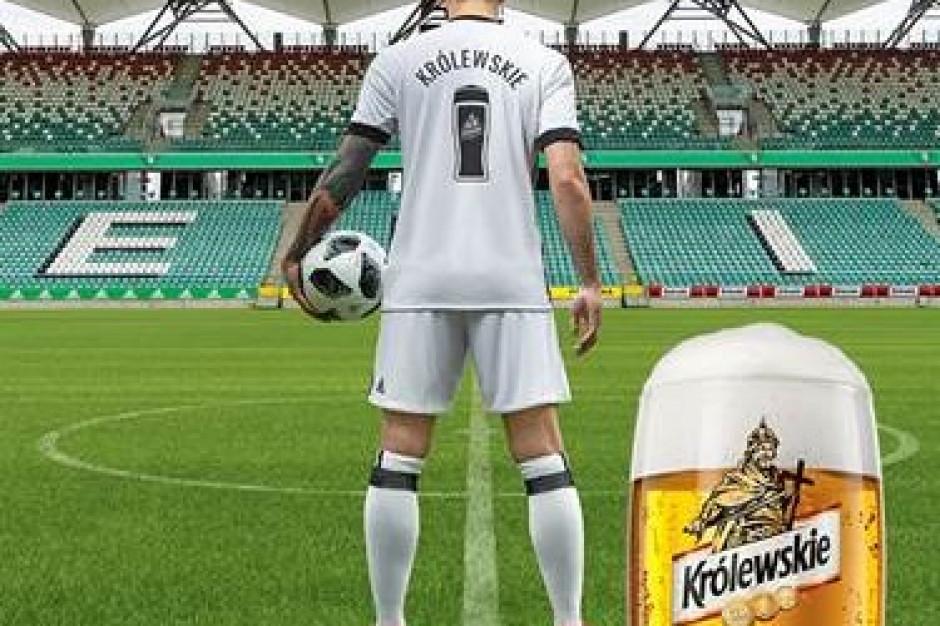 Piwo Królewskie 3.2% będzie sprzedawane w trakcie meczów Legii Warszawa
