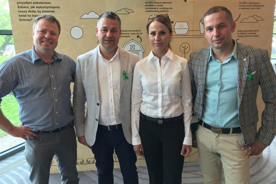 McDonald's Polska przedstawił czworo nowych licencjobiorców sieci