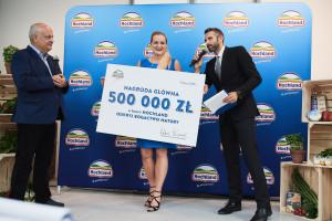 500 000 zł trafiło do rąk zwycięzcy Loterii Hochland
