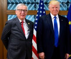Trump i Juncker spotkają się, by omówić m.in. problemy handlu