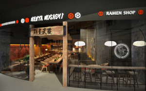 Restauracja Menya Musashi Ramen Shop pojawi się w Blue City