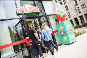Sieć pizzerii Papa John's startuje w Warszawie