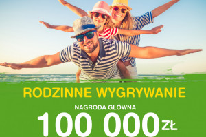 """Loteria """"Rodzinne wygrywanie"""" w sklepach Groszek"""