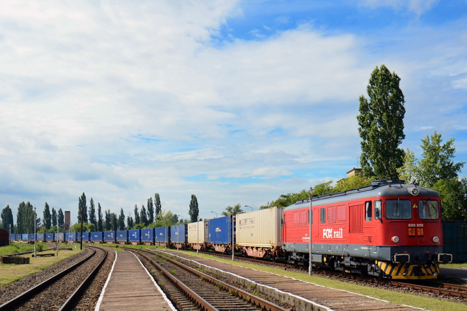 Pierwszy pociąg intermodalny łączący Polskę i Rumunię