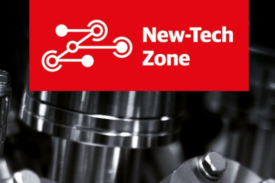 New-Tech Zone - specjalna strefa wystawienniczaw czasie Nowy Przemysł Expo