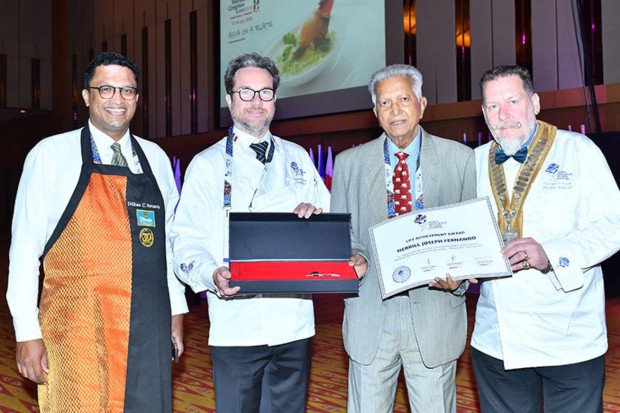 Założyciel Dilmah nagrodzony przez Światowe Stowarzyszenie Społeczności Szefów Kuchni