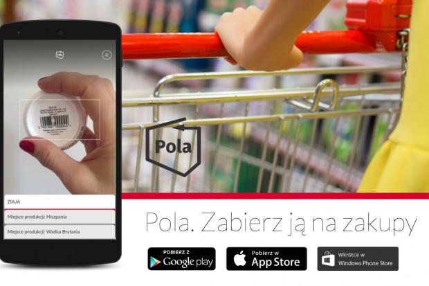 """Aplikacja """"Pola"""" wprowadzi własny znak towarowy dla polskiej żywności"""