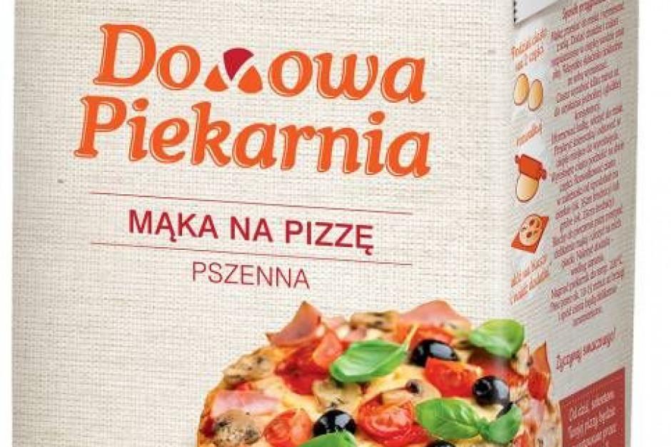 """Mąka na pizzę z linii """"Domowa Piekarnia"""""""