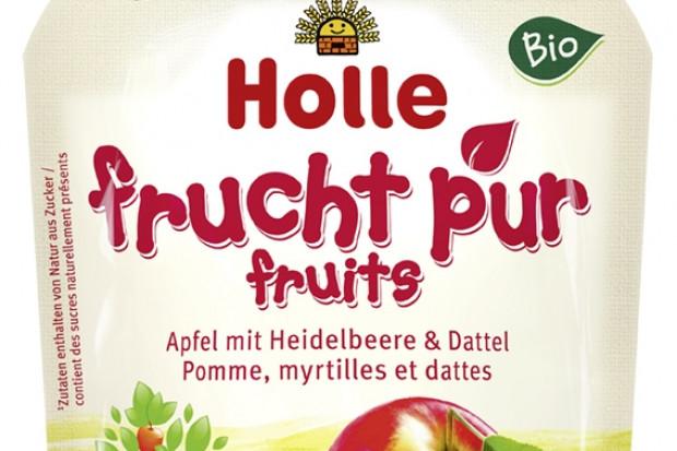 Holle wprowadza mus z jabłek, jagód i daktyli