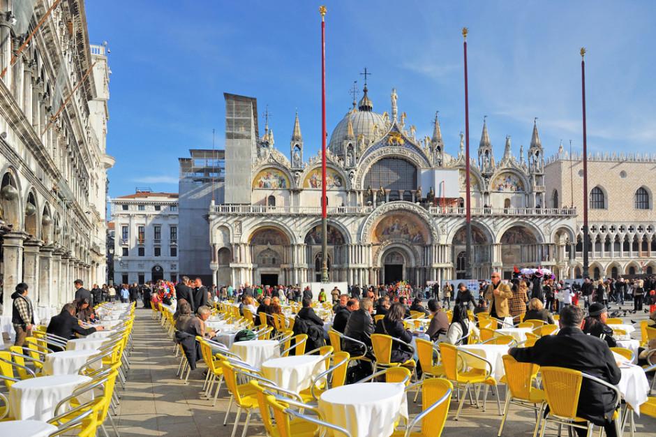 Wenecja: Kawa z widokiem na zabytki prawie 10 razy droższa
