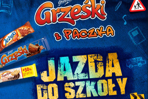 Grześki & paczka Jazda do szkoły – nowa promocja marki Grześki