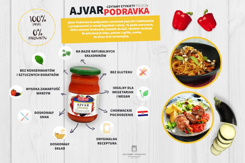 Chorwacki przysmak od Podravki