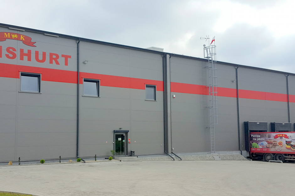 Konshurt z nowym centrum logistycznym