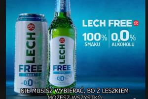 Lech Free 0,0% z kampanią - #możeszwszystko