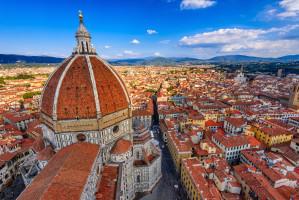 W centrum Florencji jeść można tylko idąc