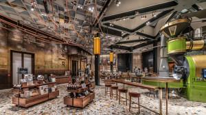 Starbucks otwiera designerską kawiarnię w Mediolanie w koncepcie Starbucks Reserve Roastery