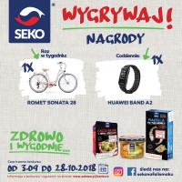 """SEKO stratuje z konkursem """"Zdrowo i Wygodnie"""""""