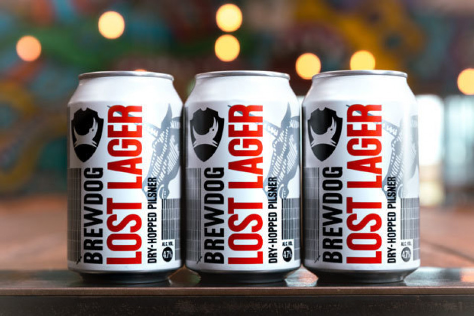 Tesco i Booker wprowadzają markę piwa Lost Lager