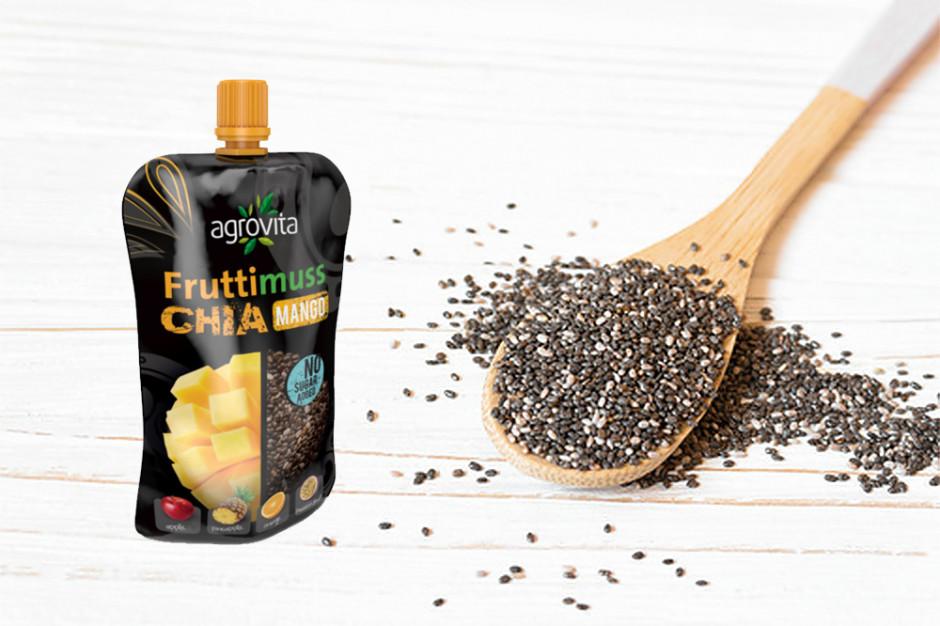 Fruttimuss Chia - nowy mus owocowy z nasionami chia