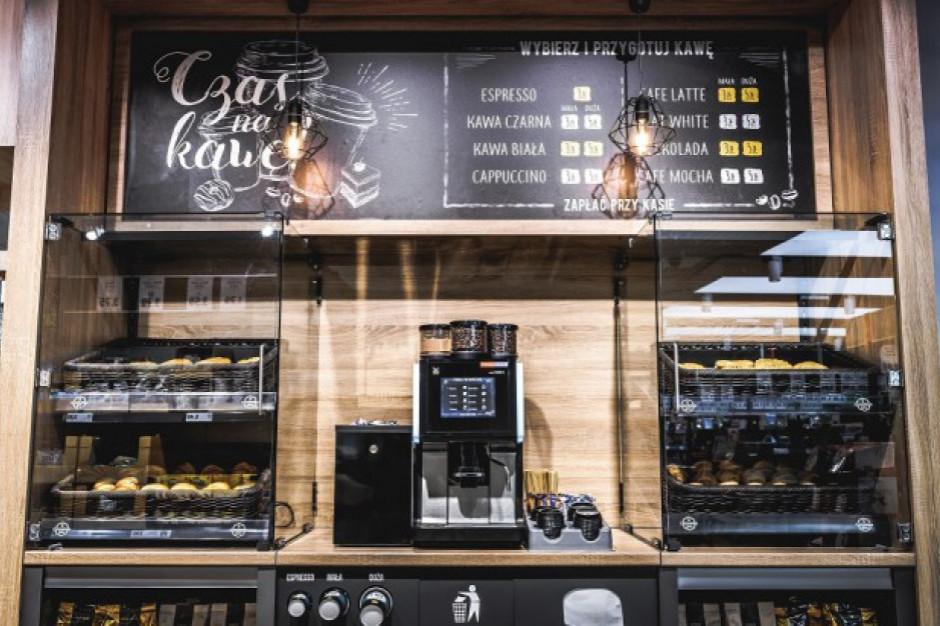 Automaty z kawą w sklepach Lidl