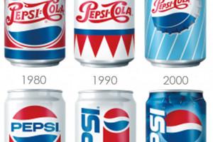 Pepsi promuje swoje napoje w puszkach z dawnych dekad
