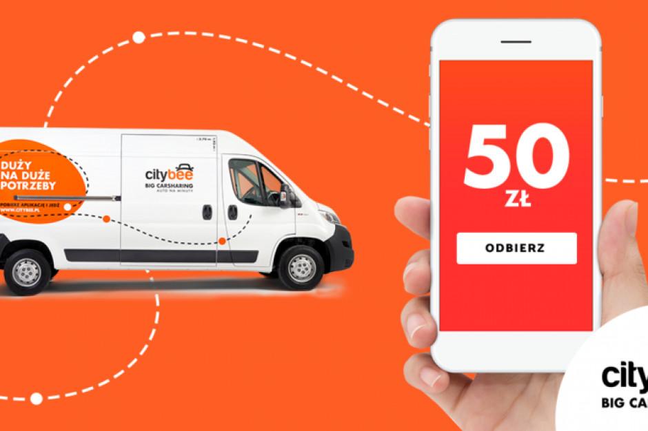 W Polsce startuje CityBee - wynajem samochodów dostawczych na minuty