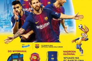 Nesquik współpracuje z FC Barcelona