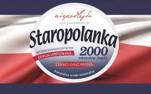 """Staropolanka: Specjalna edycja wody z oficjalnym logo Programu """"Niepodległa"""" (spot)"""