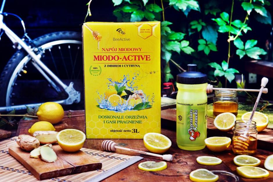 Pszczelarz Kozacki wprowadza na rynek napój Miodo-Active