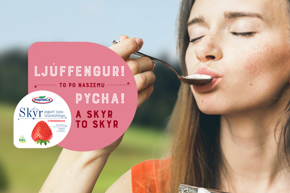 Kampania jogurtu SKYR z OSM Piątnica