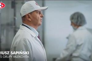 Dariusz Sapiński w reklamach Masła Polskiego Mlekovity (wideo)