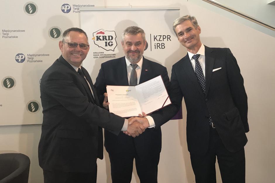 KRD-IG i KZPRiRB podpisały porozumienie ws. wykorzystania rzepaku w żywieniu drobiu