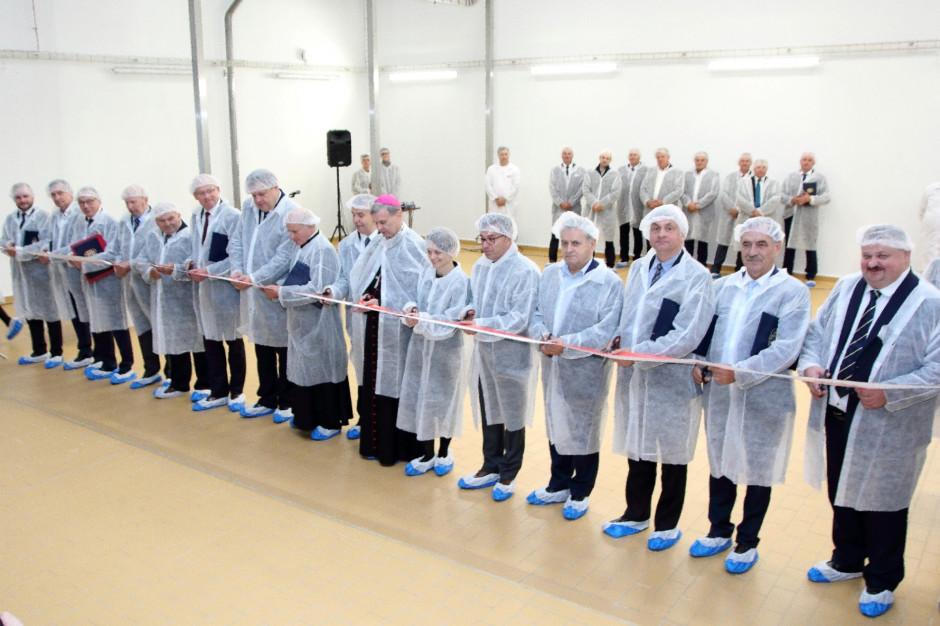 Minister Emilewicz na oficjalnym poświęceniu Fabryki Proszków Mlecznych Mlekovity (galeria)