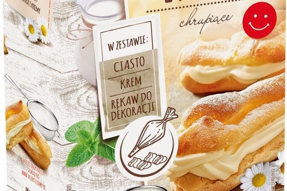 Delecta wprowadza do oferty ciastka eklerki