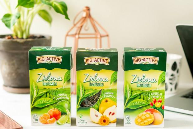 Big-Active z nowymi wariantami zielonych herbat