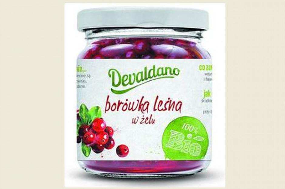 Nowość od marki Devaldano - BIO Borówka leśna w żelu