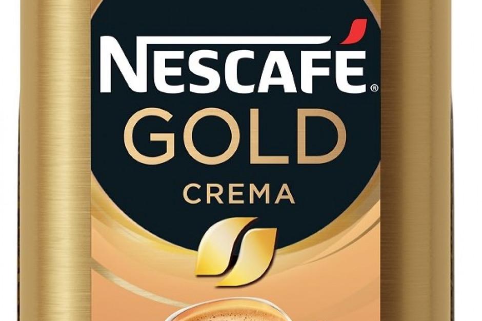Nescafé Gold Crema nowością w ofercie Nescafé Gold