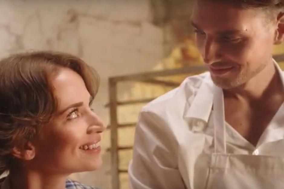 Historia miłosna właścicieli w reklamie Piekarni Putka