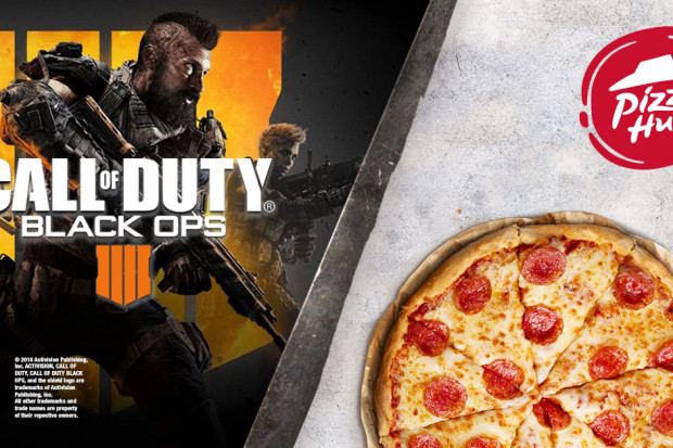 Pizza Hut współpracuje z producentami gry Call of Duty
