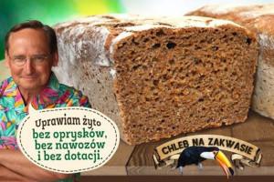 Wojciech Cejrowski sprzedaje chleby z własnego żyta